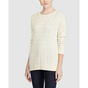 RALPH LAUREN Wool/Rabbit Hair Knit Sweater